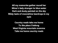 Hermes House Band - Take Me Home Country Roads lyrics