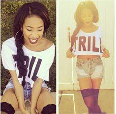 Trill. Swag. Hip Hop Style. Hip Hop Fashion. Urban Fashion. Urban Outfit. Dope