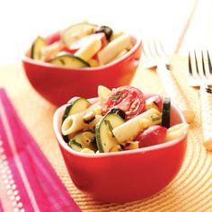 Summer Salad Recipes from Taste of Home, including Grilled Corn Pasta Salad Recipe