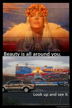 Beauty is all around