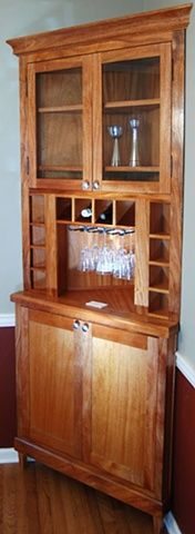 Great Corner Hutch For The Kitchen!