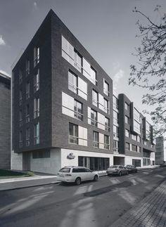 Жилой комплекс в Бутиковском переулке, д. 5 : Sergey Skuratov Architects