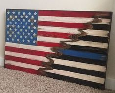 thin blue line wood flag Essential Woodworking Tools, Antique Woodworking Tools, Woodworking School, Popular Woodworking, Woodworking Crafts, Woodworking Plans, Woodworking Articles, Grizzly Woodworking, Woodworking Courses