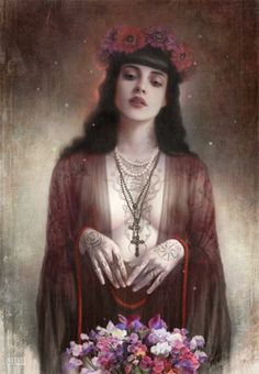 Seriously Ruined: Fantasy, Mysticism and the Feminine beauty | An interview with Tom Bagshaw