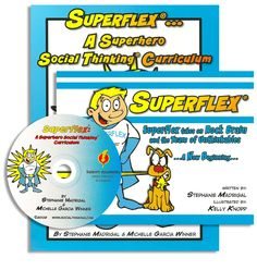 Superflex®: A  Superhero Social Thinking Curriculum Package -- this one follows YOU ARE A SOCIAL DETECTIVE and uses a fun superhero concept to get kids thinking about and understanding social thinking. My son LOVES it. He also attends a social group led by a speech language pathologist who uses this book. Awesome!