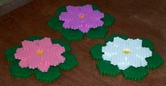 Water Lily or Lotus Flower made from Fuse Beads