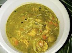 Authentic jamaican recipes fish tea soup main dish for Jamaican fish soup recipe