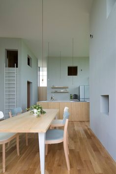 House in Ohno, Japan by Airhouse Design, Photos by Toshiyuki Yano