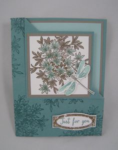 Awesomely Artistic Corner Flip Card- Stampin' Up by Miechelle Weber www.stampinu.wordpress.com