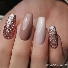 A manicure is a cosmetic elegance therapy for the finger nails and hands. A manicure could deal with just the hands, just the nails, or Gorgeous Nails, Pretty Nails, Ongles Beiges, Nagellack Design, Best Acrylic Nails, Matte Nails, Stiletto Nails, Autumn Nails Acrylic, Fall Gel Nails