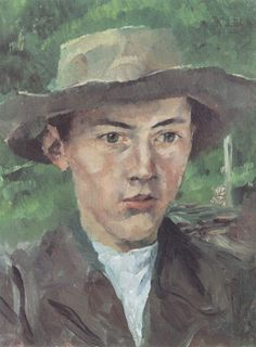 Kopf eines Bauernjungen (Portrait of a Farmboy), Wilhelm Leibl