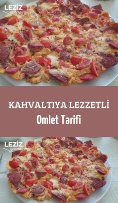 Delicious Omelette Recipe for Breakfast - My Delicious Food Homemade Beauty Products, Hawaiian Pizza, Omlet, Breakfast Recipes, Food And Drink, Health Fitness, Yummy Food, Eat, Cooking