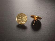 brincos de 20 centavos com banho de ouro  http://facebook.com/Joiasdaanavasconcelos