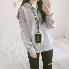 Korean Girl Fashion, Korean Fashion Casual, Korean Fashion Trends, Ulzzang Fashion, Korea Fashion, Vogue Fashion, Asian Fashion, Modest Fashion, Fashion Outfits