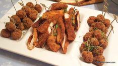 6 rețete de aperitive rapide reci pentru platouri festive românești tradiționale   Savori Urbane Chicken Nuggets, Chicken Wings, Wiener Schnitzel, Lunch, Beef, Cooking, Recipes, Food, Ham