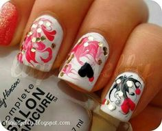 diy valentine hair accessories | valentine s nails see more about valentine nails valentines and nails