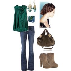 Sophisticated/Casual, created by michlee on Polyvore. LOVE this!
