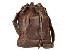 Billy The Kid - MICKEY - Leder Beuteltasche Handtasche Damentasche - 5 Farben