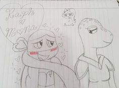 Raph x Mona Lisa by SweetiePie17