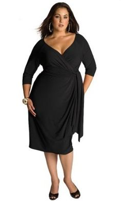 IGIGI by Yuliya Raquel Plus Size Marcelle Cocktail Dress in Black,$165.00    Very nice dress. Love the look of it.