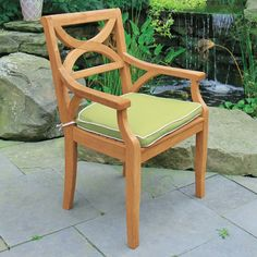 Teak Dining Chairs - Fiori® Armchair   Country Casual