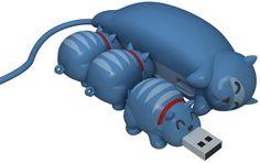 Hub USB en forme de chat
