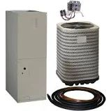 Kelvinator 1.5 Ton 14 Seer R-410A Split System Package Electric Heat Pump System, Gray