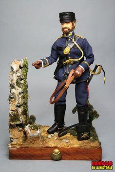 COMANDANTE DE ARTILLERÍA DE CAMPAÑA Y MARCHA – SECCIONES MONTADAS 1885 madelman custom