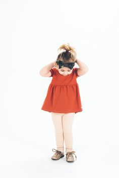The most precious top and leggings for little girls from Wildly Co.