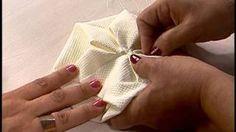 Origami Fuxico em forma de estrela Passo a Passo | Cantinho do Video