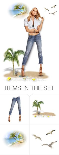 """""""Daydream Believer"""" by rboowybe ❤ liked on Polyvore featuring art and contestentry"""