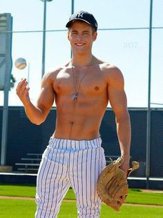 Oh heyy. Its baseball season ladies. (;