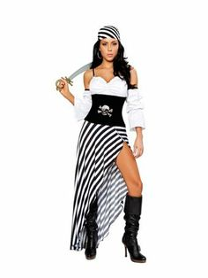 Women's Sexy Pirate Lass | Wholesale Pirate Halloween Costumes for Sexy Costumes