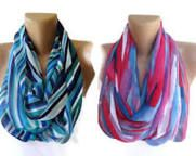 Infinity scarves I love how they look!