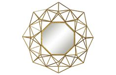 Sterling Industries Chapelle 31 X 31 inch Gold Wall Mirror Wall Mirrors Entryway, Black Wall Mirror, Rustic Wall Mirrors, Round Wall Mirror, Mirror Art, Mirror Ideas, Mirror Bedroom, Octagon Mirror, Mirror Collage