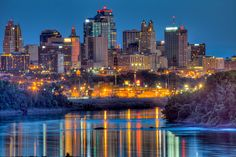 Downtown Kansas City - I never lived there, but I was there often, and I loved it.