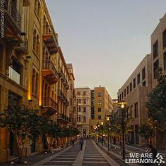 LEBANON, BEIRUT STREET SCENE