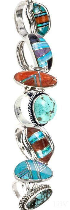 Turquoise Rings ♥