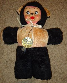 vintage rubber face big eye big bear very cute by CANDYLEMON, $39.99