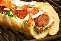 Deluxe Boerewors Salad Rolls with Tomato and Chilli Sauce South African Recipes, Ethnic Recipes, Braai Recipes, Salad Rolls, Riff Raff, The Rocky Horror Picture Show, Basil Pesto, Recipe Search, Sausages
