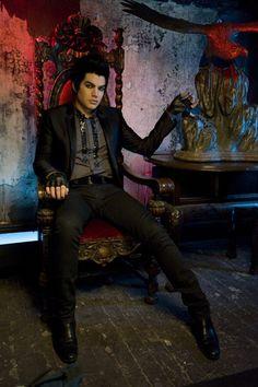 Adam Lambert - For Your Entertainment video shoot.