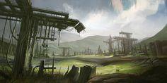 Industrial Fields by Howi3.deviantart.com on @deviantART