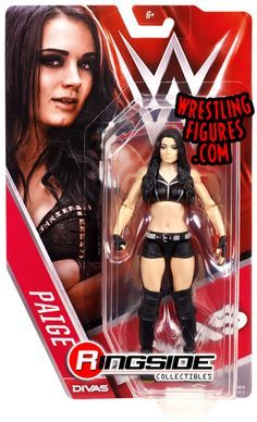Paige WWE 2015 Divas Wrestling Action Figure Mattel WWF for sale online Paige Wwe, Wwe Divas Paige, Figuras Wwe, Wrestling Superstars, Wrestling Divas, Wwe Action Figures, Rodeo Outfits, Wwe Girls, Wwe Elite