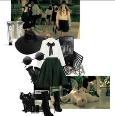 Cute AHS Coven outfit.