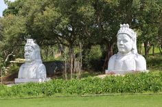 Garden Of Eden, Sky And Clouds, West Coast, Garden Sculpture, Buddha, Portugal, Oriental, Statue, I Love