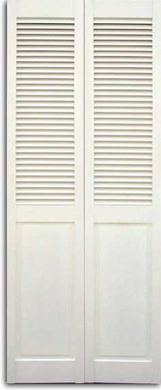 Louvered closet door makeover laundry rooms 21 ideas for 2019 Louvered Bifold Doors, Louvered Door Ideas, Laundry Room Doors, Bathroom Doors, Laundry Closet, Bathroom Closet, Bathroom Ideas, Wardrobe Doors, Closet Doors