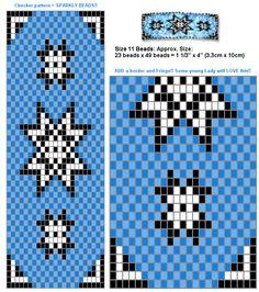 Free beadwork design