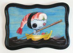 Meet my new creepy/cute kitchen art from Cuddly Rigor Mortis