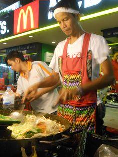 Cooking Pad Thai