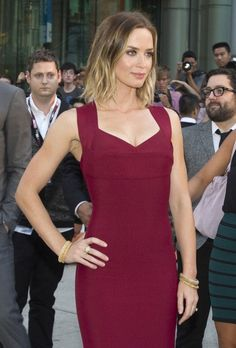 EMILY BLUNT at Looper Premiere  Get it on http://Papr.Club as a Monthly Subscription